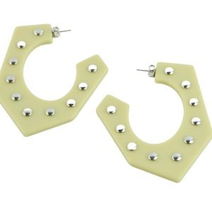 Rachel Comey Balady Angular Hoop Earrings